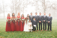 Bridal Party + Family Portraits